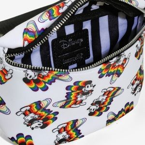 Disney Bags - Loungefly Mickey Mouse Rainbow Fanny Pack